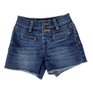 JUSTICE girls Jean shorts